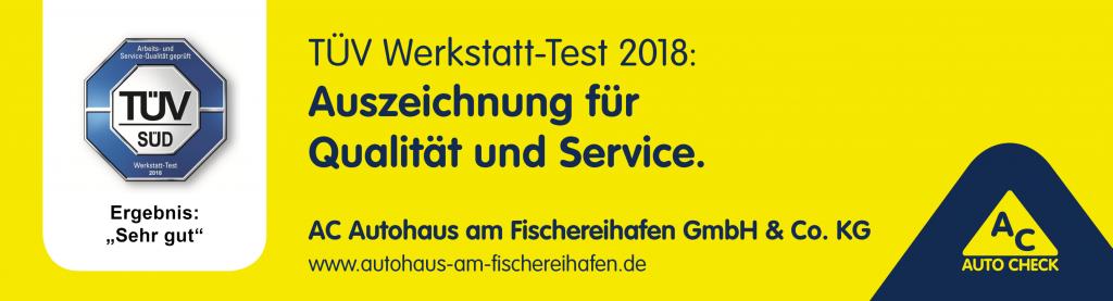 TÜV Werkstatt-Test 2018