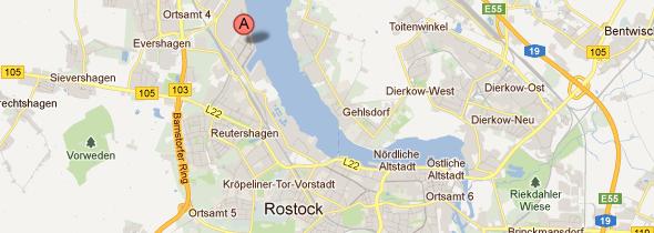 Kartenausschnitt Standort