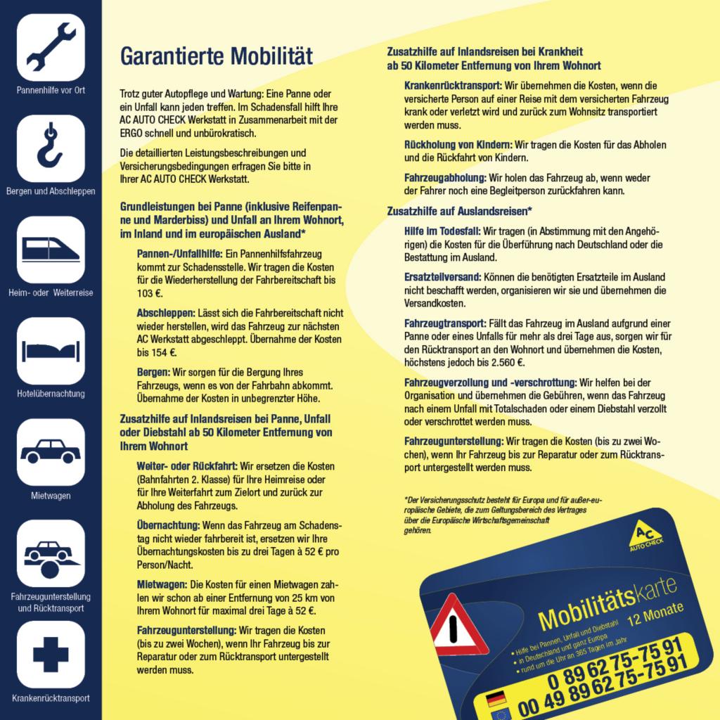 Garantierte Mobilität